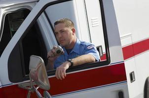 paramedico al lavoro foto