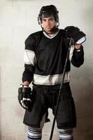 giocatore di hockey foto