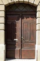 vecchia porta foto