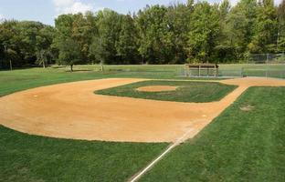 diamante da baseball o softball foto