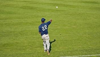 giocatori di baseball foto