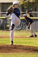 lanciatore di baseball foto