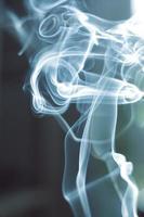 pennacchio di fumo foto