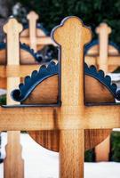 croci di legno foto