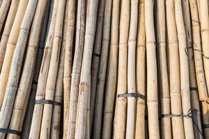 materiale da costruzione in bambù foto
