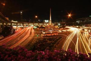 notte di bankok foto