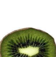 spazio della copia del primo piano fruttato del kiwi foto