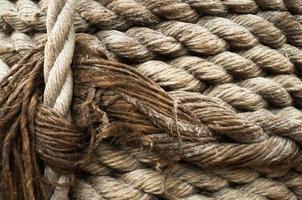 sfondo da corda pirata retrò con spazio di copia