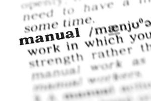 manuale (il progetto dizionario)