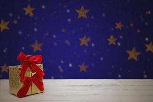 cartolina di Natale festiva foto