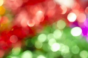 bokeh di Natale