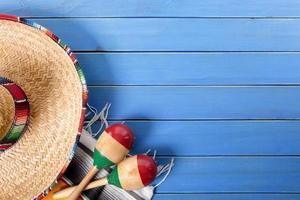 sfondo messicano con copyspace foto