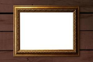 cornice vuota con spazio di copia foto