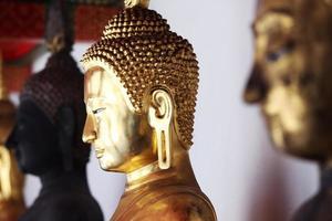 bella faccia di buddha foto