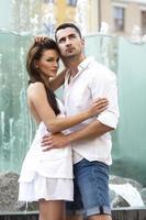 giovane coppia sensuale foto