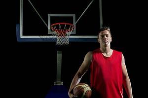ritratto del giocatore di basket foto