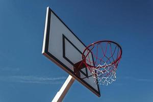 canestro da basket da pannello foto