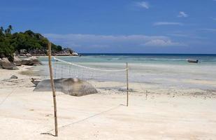 pallavolo in spiaggia foto