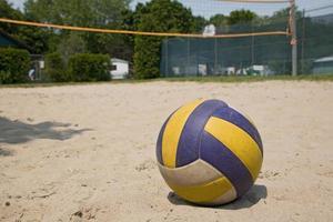 palla da pallavolo sportiva foto