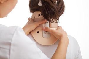 collare cervicale foto