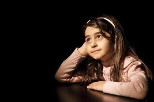 bambino in attesa foto