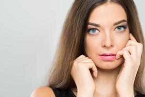 donna attraente foto