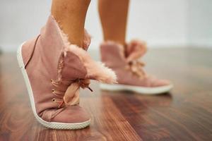scarpe sportive da vicino foto