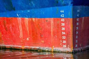 arco della nave da vicino