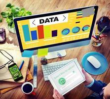 informazioni statistiche sul modello di prestazione del grafico di analisi dei dati foto