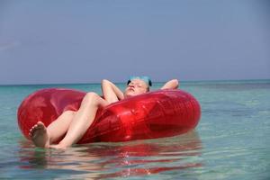 galleggianti e rilassanti foto