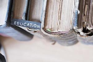 concetto di educazione foto