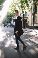 modello alla moda hipster foto