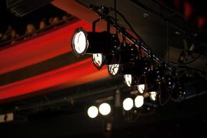 luci del palcoscenico foto