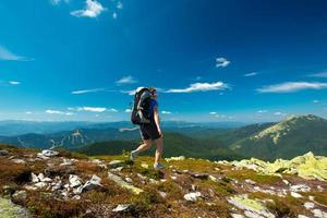 escursioni nelle montagne dei Carpazi foto