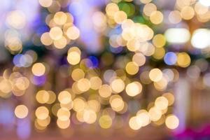 sfondo astratto di punti luce multicolori