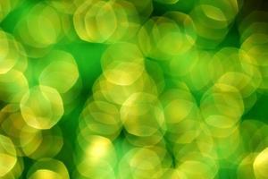 luci di sfondo illuminate verde