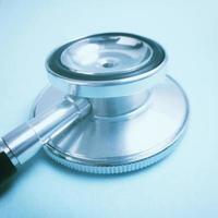 dettaglio dello stetoscopio foto