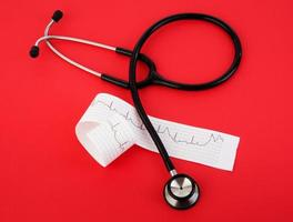 salute di emergenza rossa foto