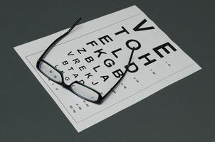 esame oculistico foto