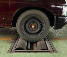 sistema di prova del freno dell'automobile foto