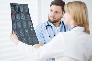 scansione del cervello foto