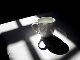 prova del set da caffè nel pomeriggio