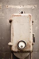 il vecchio strumento di macchinari foto