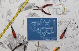 piano di ristrutturazione casa foto