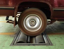 sistema di prova del freno dell'automobile