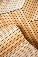 scale di legno foto