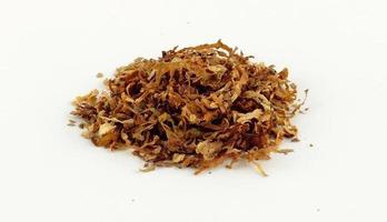 tabacco di una sigaretta foto