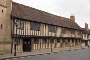 scuola medievale, stratford upon avon foto