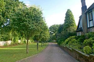 vialetto di casa britannico foto