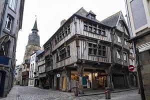 costruzioni medievali in Bretagna, Francia foto